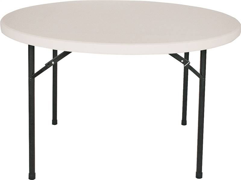 PLASTIC FOLDING TABLE 48INCHES