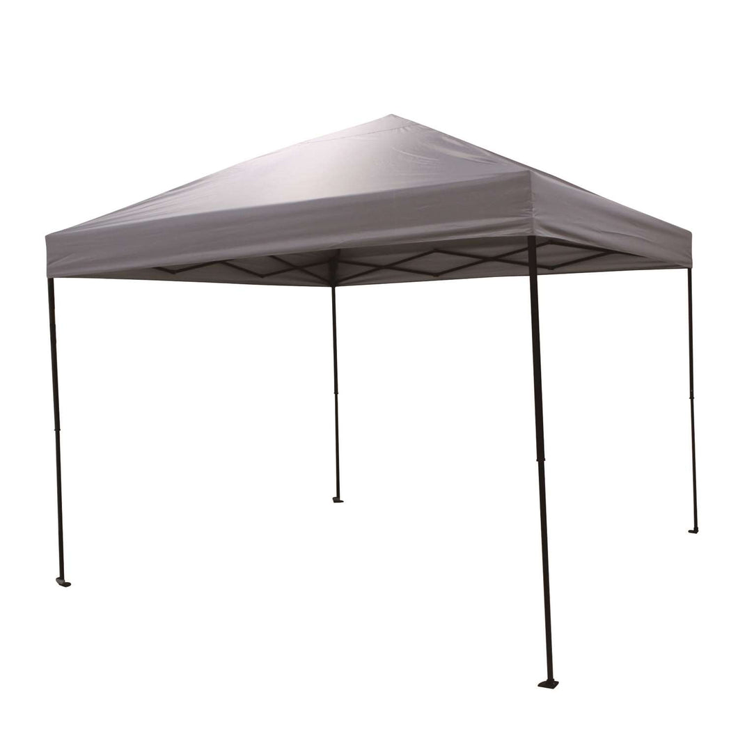 Crown Shade One Touch Polyester Canopy tent 9.38 ft. H x 10 ft. W x 10 ft. L