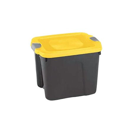 Durabilt 10 Gal. Plastic Storage Tote with Latches