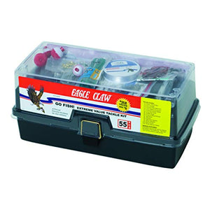 EAGLE CLAW Extreme Tackle Box Kit