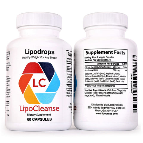 Lipocleanse Ingredients
