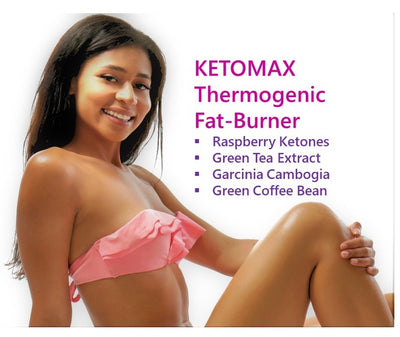 KETOMAX Natural Thermogenic Fat-Burner