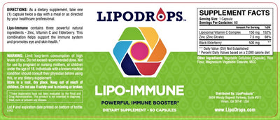 LIPO-IMMUNE Raise Your Body's Defenses