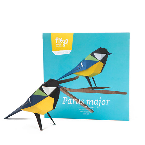 Pájaros de papel: Parus major