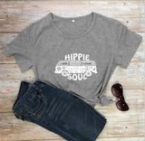 Hippie Soul Print - Women T Shirt