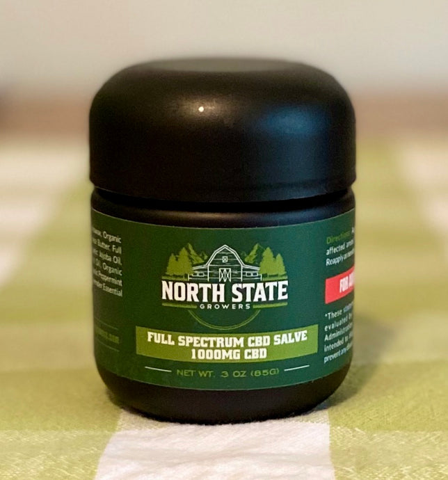 Full Spectrum CBD Salve (1000mg)