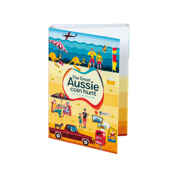 Great Aussie Coin Hunt Folder