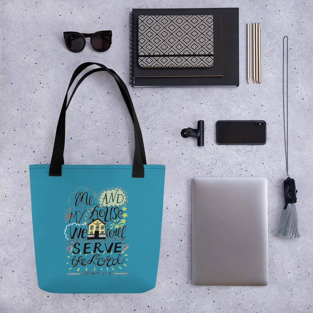 Me and My House - Stylish, Roomy Tote Bag