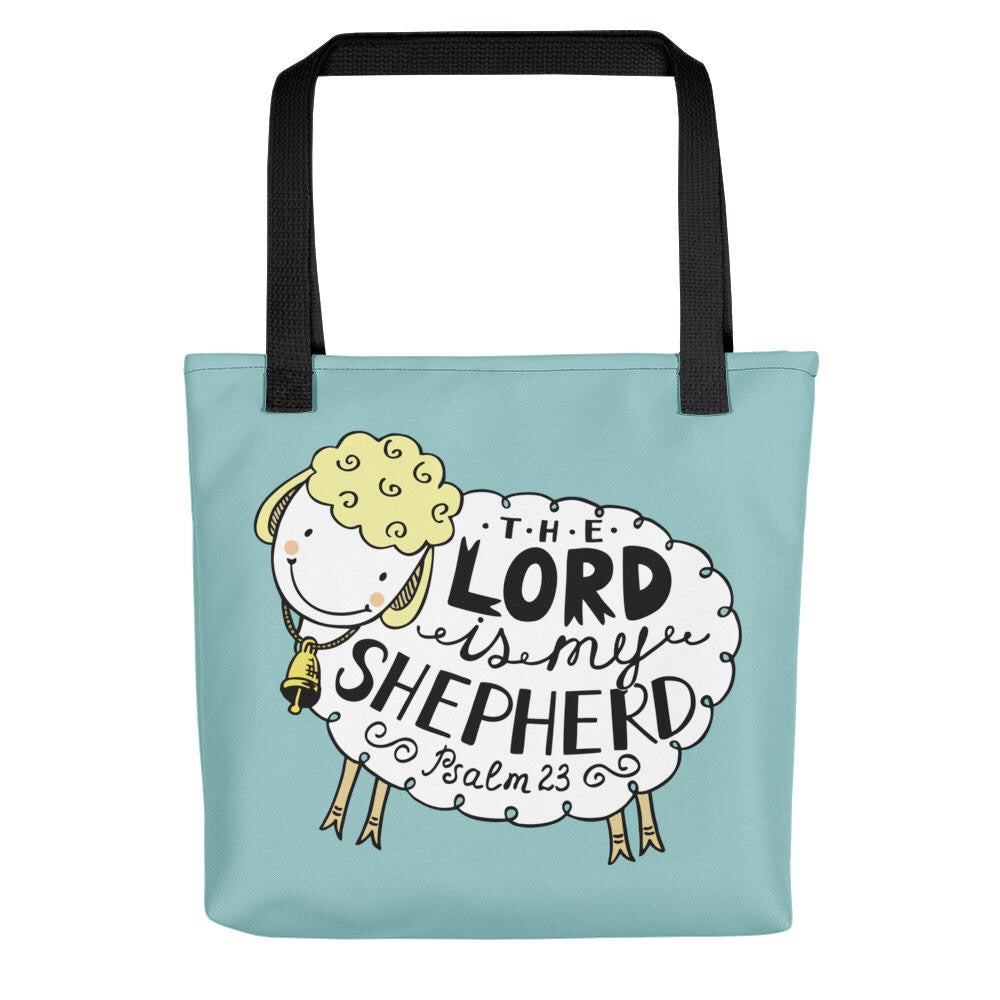 The Lord is My Shepherd - Adorable Kids Tote or Baby Bag!