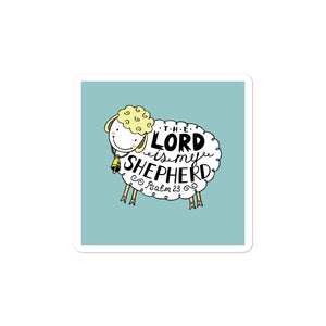 The Lord is My Shepherd - Bubble-free Stickers