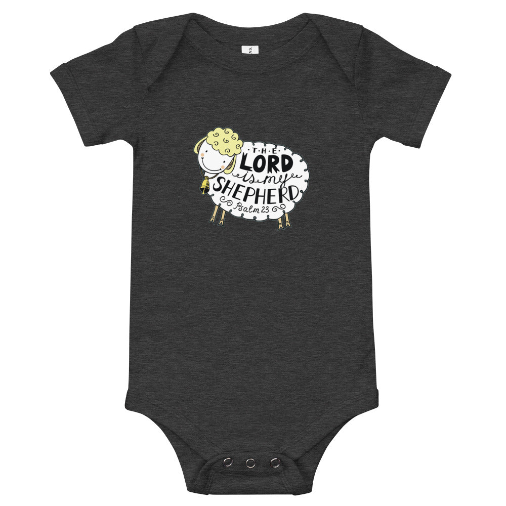 The Lord is My Shepherd - Baby Premium Onesie Infanr Bodysuit