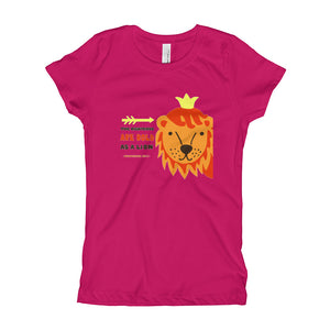 Bold as a Lion - Girl's Slim-fit T-Shirt