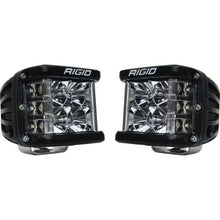 Load image into Gallery viewer, Rigid Industries D-SS - Flood - Set of 2 - Black Housing