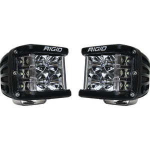 Rigid Industries D-SS - Flood - Set of 2 - Black Housing