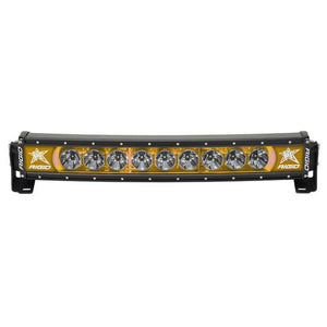 Rigid Industries Radiance Plus Curved 20in Amber Backlight