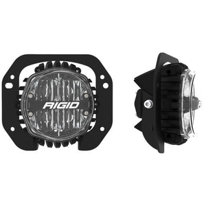 Rigid Industries 360-Series 4in LED SAE J583 Fog Light - 2018+ Jeep JL Rubicon - White (Pair)