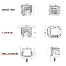 Load image into Gallery viewer, Rigid Industries Dually - Flush Mount - Flood - Set of 2