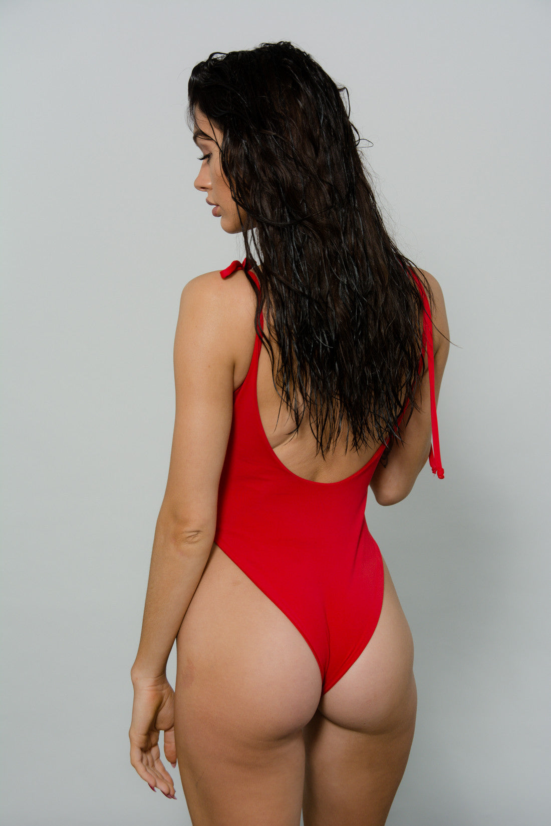 THE 'TIES' SWIMSUIT