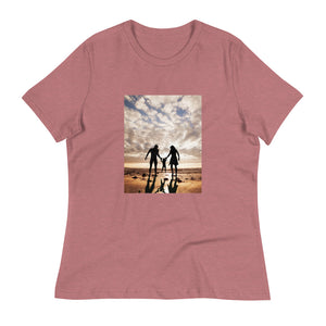 Family Walking Together: Women's T-Shirt - A Collection Of Goods