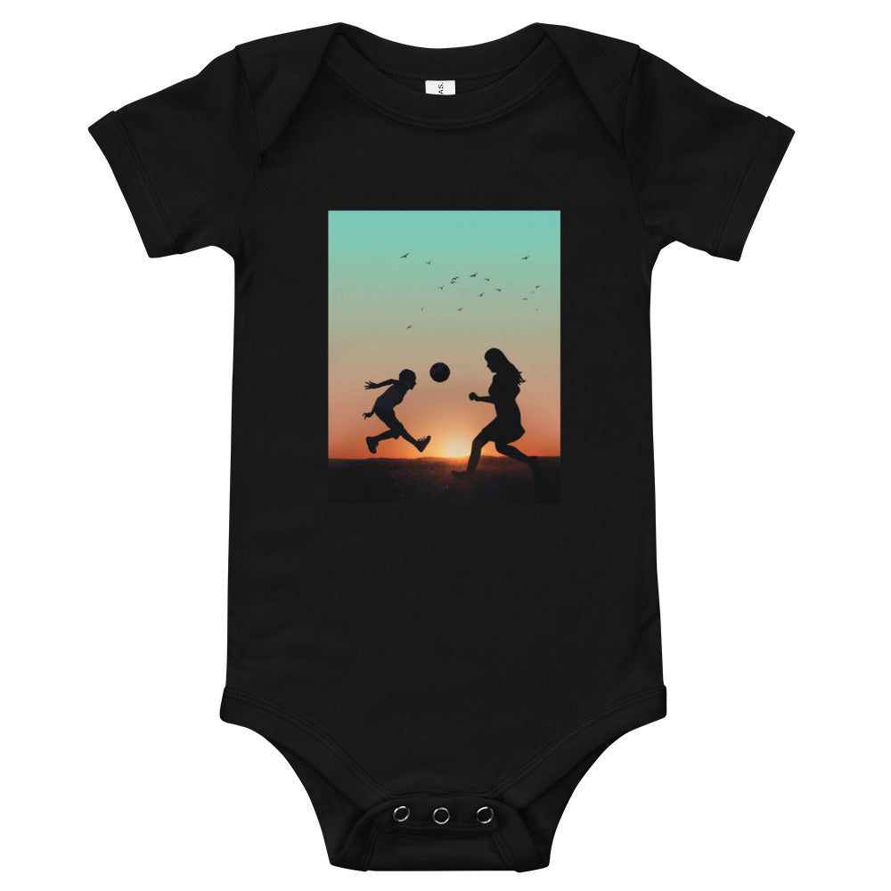 Football With Mom: Baby Onesie - A Collection Of Goods