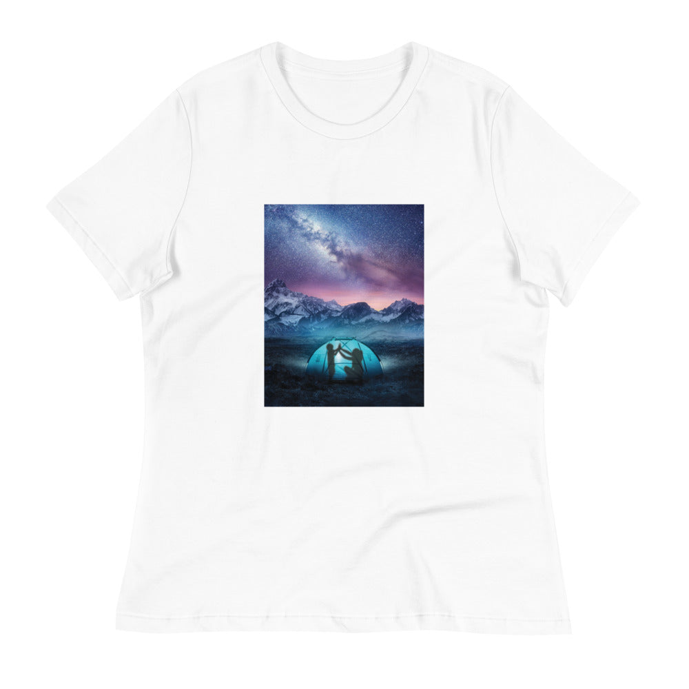 Camping Together: Women's T-Shirt - A Collection Of Goods