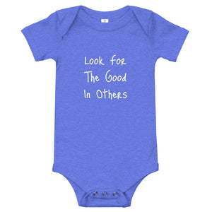 Look For Good: Baby Onesie - A Collection Of Goods