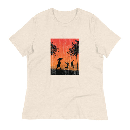 Rain Together: Women's T-Shirt - A Collection Of Goods