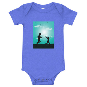 Running With Dad: Baby Onesie - A Collection Of Goods