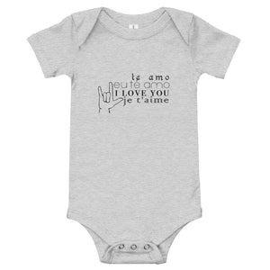 Love You: Baby Onesie - A Collection Of Goods