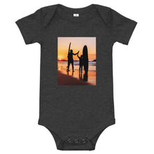 Load image into Gallery viewer, Surfing Together: Baby Onesie - A Collection Of Goods