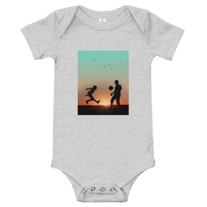 Football With Dad: Baby Onesie - A Collection Of Goods