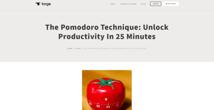 The Pomodoro Technique: Unlock Productivity In 25 Minutes