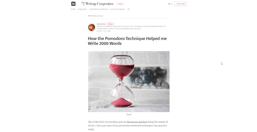 How the Pomodoro Technique Helped me Write 2000 Words