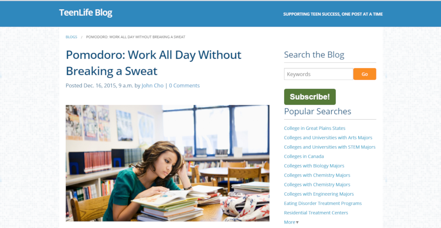 Pomodoro: Work All Day Without Breaking a Sweat