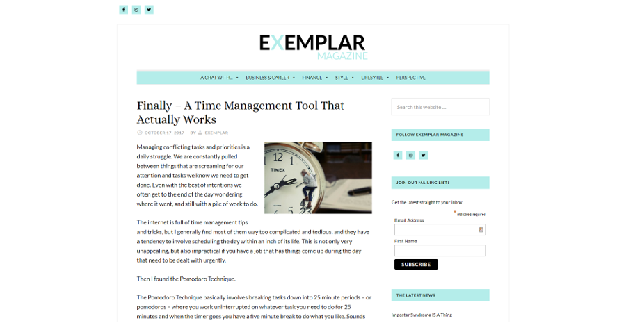 Finally – A Time Management Tool That Actually Works