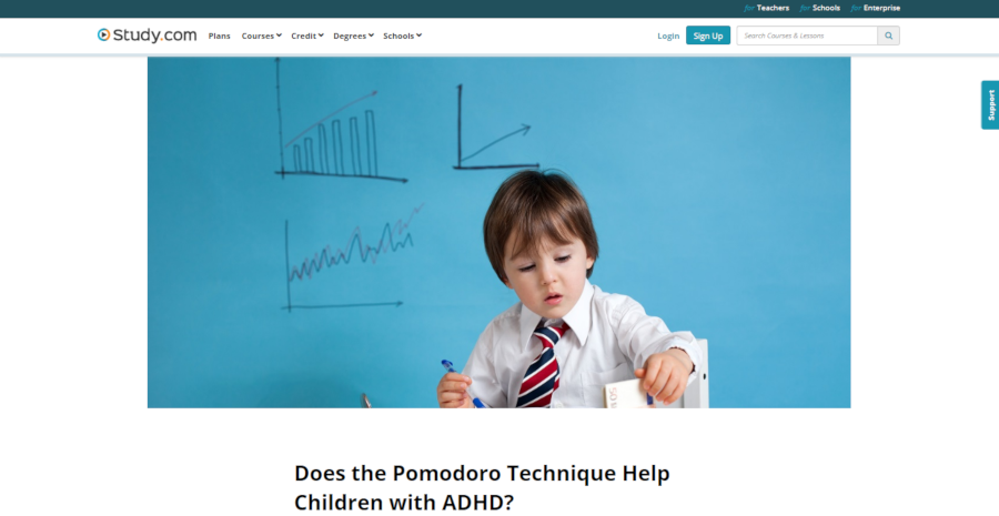 Does the Pomodoro Technique Help Children with ADHD?