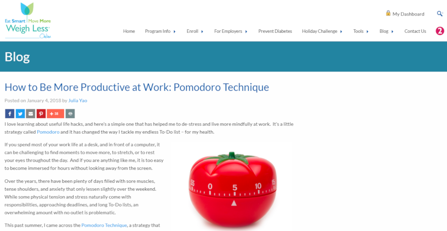 How to Be More Productive at Work: Pomodoro Technique