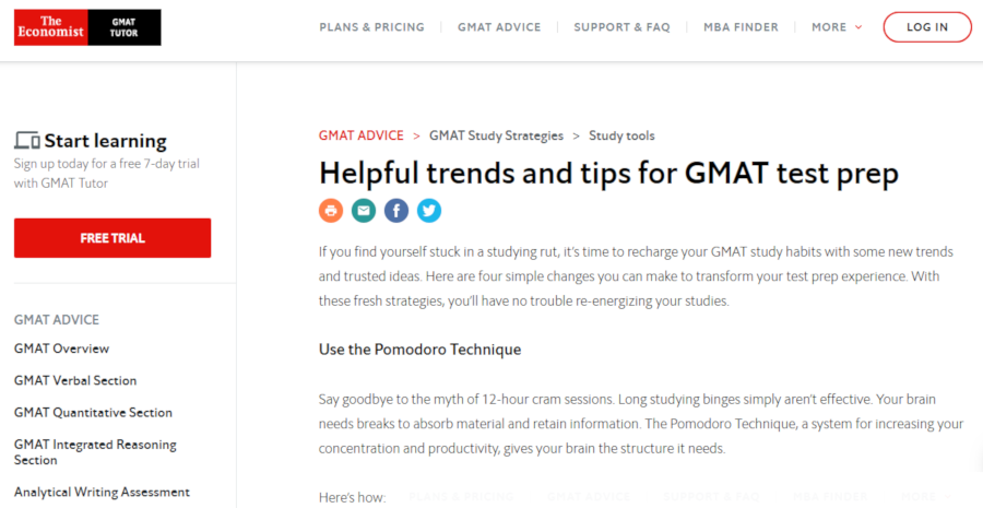 Helpful trends and tips for GMAT test prep