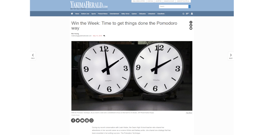 Win the Week: Time to get things done the Pomodoro way