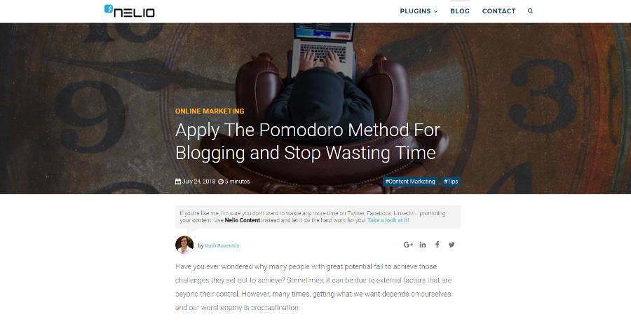 Apply The Pomodoro Method For Blogging and Stop Wasting Time