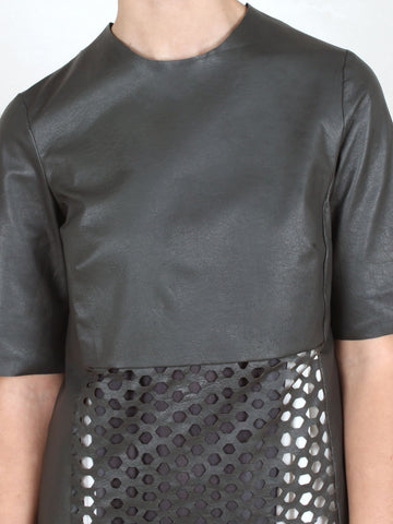 Buzz Leather Top