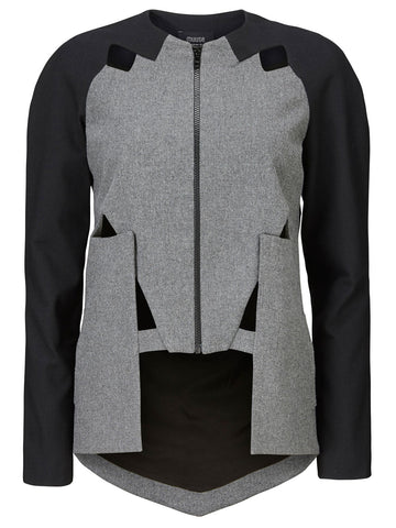 Concave Wool Jacket