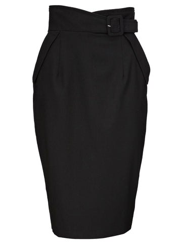 Dark Glow Woolen Skirt
