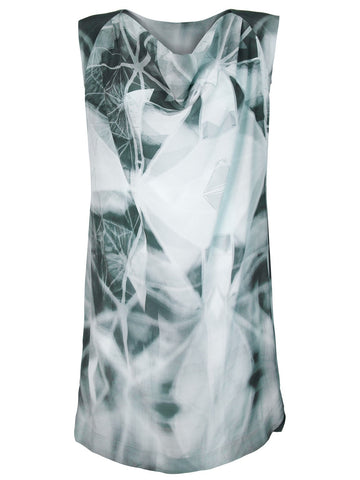 Illusion Silk Dress