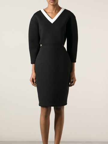 Shadow Neoprene Dress