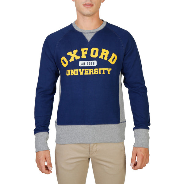 Sweat-shirt homme Oxford University - OXFORD-FLEECE-RAGLAN
