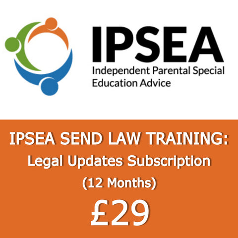IPSEA SEND Law Updates