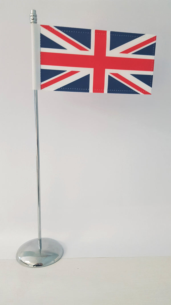 Cover Image for Union Flag with Pole & Base