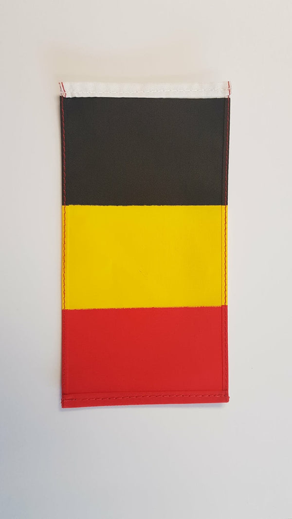Cover Image for Belgian Flag with Pole & Base