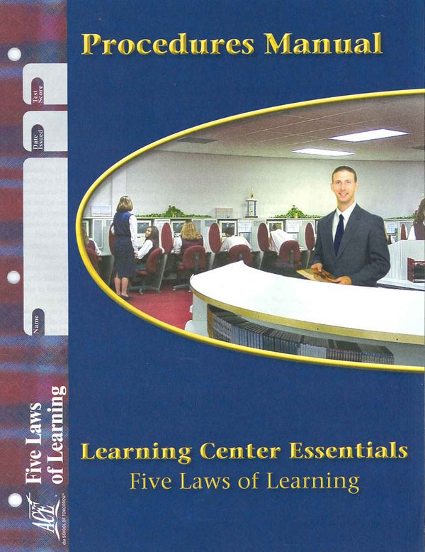 Cover Image for Learning Center Essentials PACE